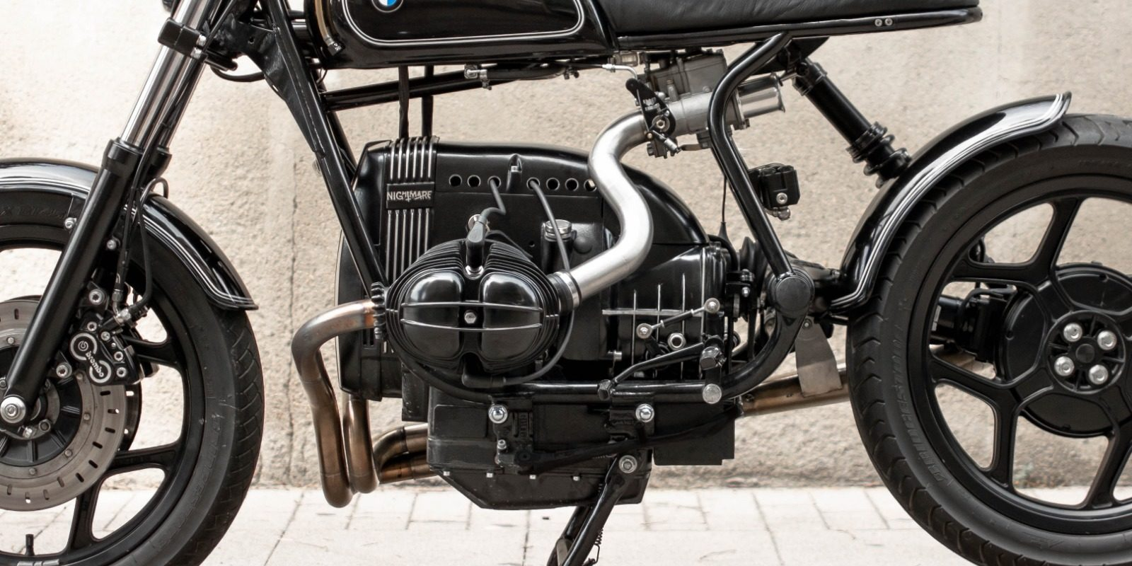 custom BMW R80 caferacer by NIKS motorcycles_engine